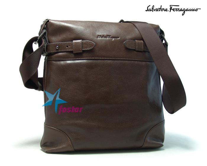 """""""Мужская сумка через плечо Salvatore Ferragamo D2057-2-27BR."""